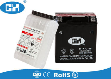 Rechargeable Maintenance Free Motorcycle Battery 12v 7Ah 113 * 70 * 130mm
