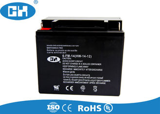 AGM Seperator Rechargeable Motorcycle Battery ABS Container MF 12v 14ah Battery